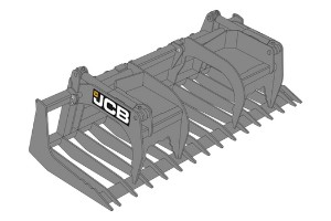 JCB Brush Grapple Forks Saudi Arabia