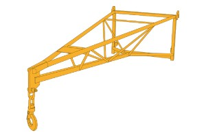 JCB Extension Jib Lifting Equipment Saudi Arabia