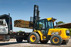 JCB Rough Terrain Forklifts Price Saudi Arabia